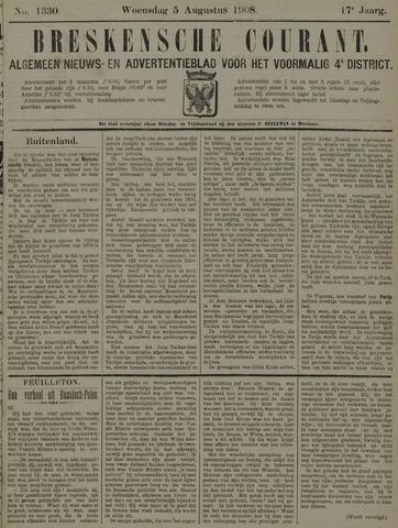 Breskensche Courant 1908-08-05