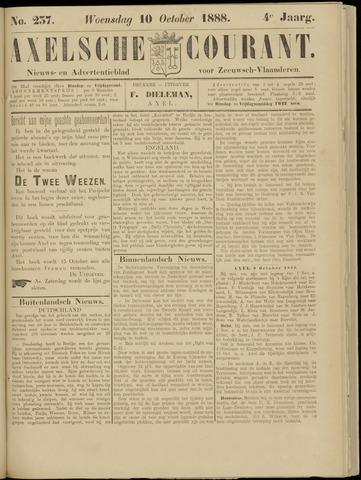 Axelsche Courant 1888-10-10