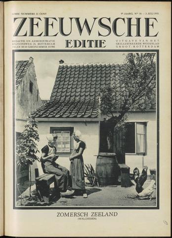 Ons Zeeland / Zeeuwsche editie 1931-07-03