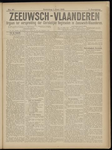 Luctor et Emergo. Antirevolutionair nieuws- en advertentieblad voor Zeeland / Zeeuwsch-Vlaanderen. Orgaan ter verspreiding van de christelijke beginselen in Zeeuwsch-Vlaanderen 1918-06-01