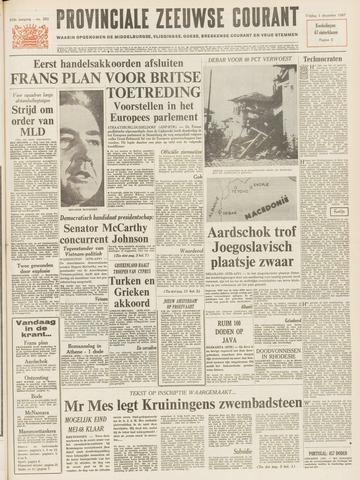 Provinciale Zeeuwse Courant 1967-12-01