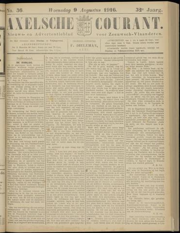 Axelsche Courant 1916-08-09