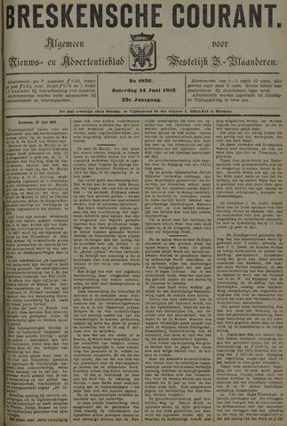 Breskensche Courant 1913-06-14