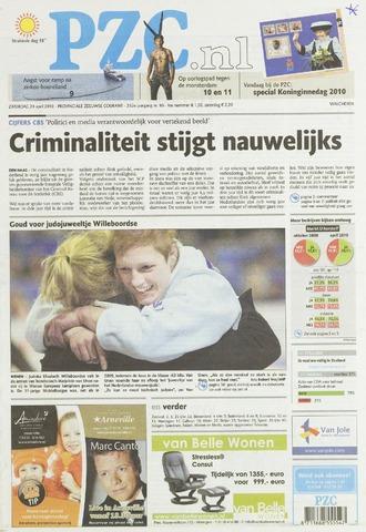 Provinciale Zeeuwse Courant 2010-04-24