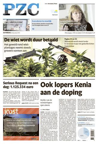 Provinciale Zeeuwse Courant 2014-12-20