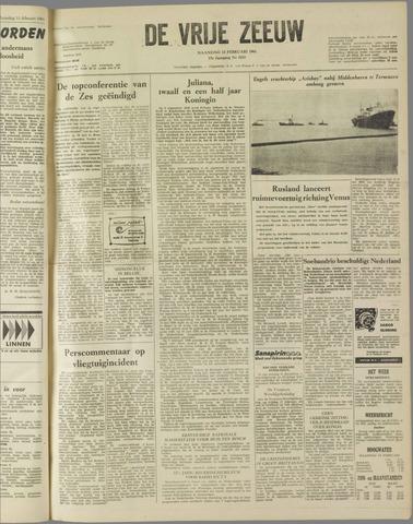 de Vrije Zeeuw 1961-02-13