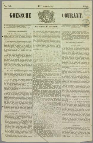 Goessche Courant 1857-10-15