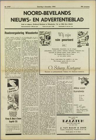 Noord-Bevelands Nieuws- en advertentieblad 1954-12-04