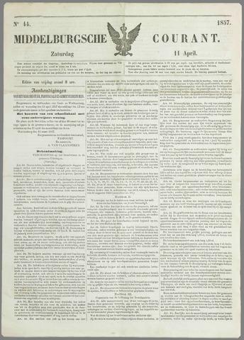 Middelburgsche Courant 1857-04-11