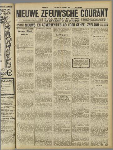 Nieuwe Zeeuwsche Courant 1925-11-21