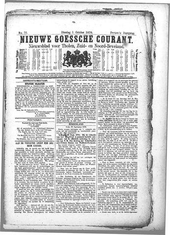 Nieuwe Goessche Courant 1878-10-01
