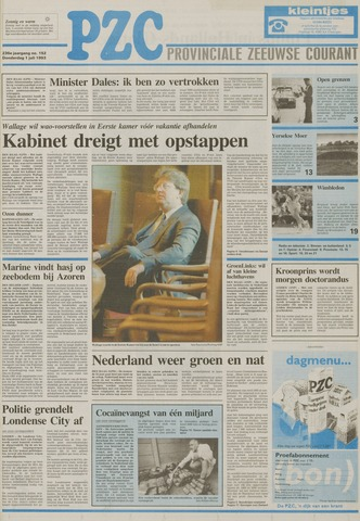 Provinciale Zeeuwse Courant 1993-07-01