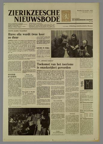 Zierikzeesche Nieuwsbode 1973-12-24