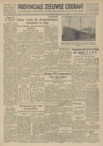 Provinciale Zeeuwse Courant 1949-01-28