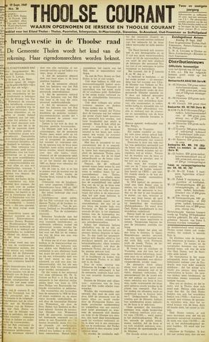 Ierseksche en Thoolsche Courant 1947-09-19