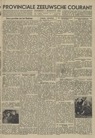 Provinciale Zeeuwse Courant 1943-08-07