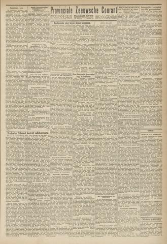 Provinciale Zeeuwse Courant 1945-07-25
