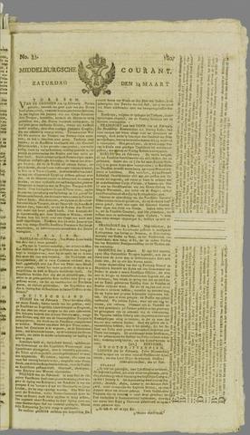 Middelburgsche Courant 1807-03-14