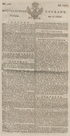 Middelburgsche Courant 1771-10-19
