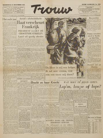 Watersnood documentatie 1953 - kranten 1953-12-31
