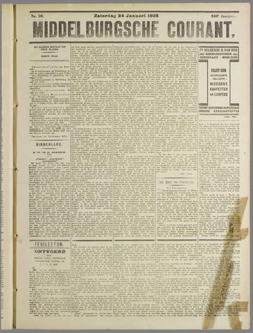 Middelburgsche Courant 1925-01-24