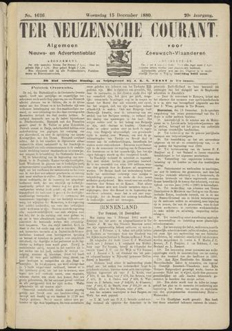 Ter Neuzensche Courant. Algemeen Nieuws- en Advertentieblad voor Zeeuwsch-Vlaanderen / Neuzensche Courant ... (idem) / (Algemeen) nieuws en advertentieblad voor Zeeuwsch-Vlaanderen 1880-12-15