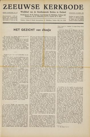 Zeeuwsche kerkbode, weekblad gewijd aan de belangen der gereformeerde kerken/ Zeeuwsch kerkblad 1951-06-29