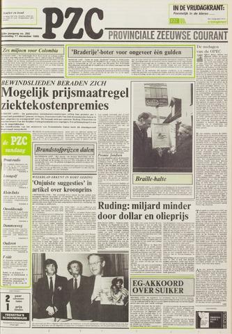 Provinciale Zeeuwse Courant 1985-12-11