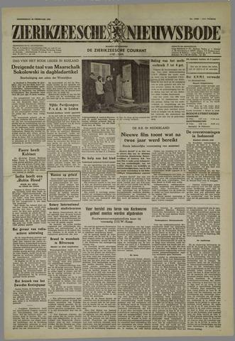 Zierikzeesche Nieuwsbode 1955-02-24