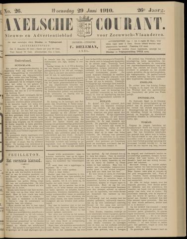 Axelsche Courant 1910-06-29