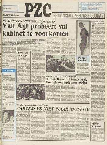 Provinciale Zeeuwse Courant 1980-02-21