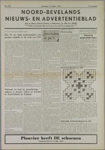 Noord-Bevelands Nieuws- en advertentieblad 1970-10-15
