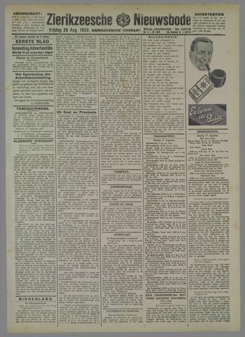 Zierikzeesche Nieuwsbode 1933-07-25