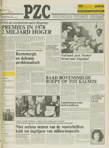 Provinciale Zeeuwse Courant 1977-09-14