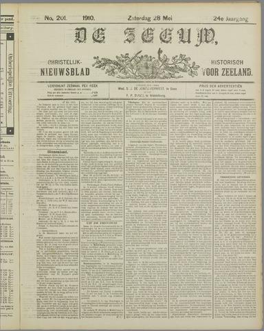 De Zeeuw. Christelijk-historisch nieuwsblad voor Zeeland 1910-05-28