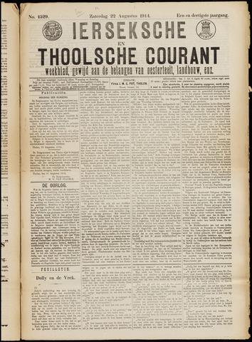 Ierseksche en Thoolsche Courant 1914-08-22