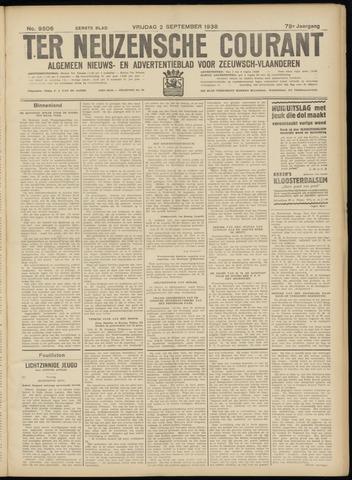 Ter Neuzensche Courant. Algemeen Nieuws- en Advertentieblad voor Zeeuwsch-Vlaanderen / Neuzensche Courant ... (idem) / (Algemeen) nieuws en advertentieblad voor Zeeuwsch-Vlaanderen 1938-09-02