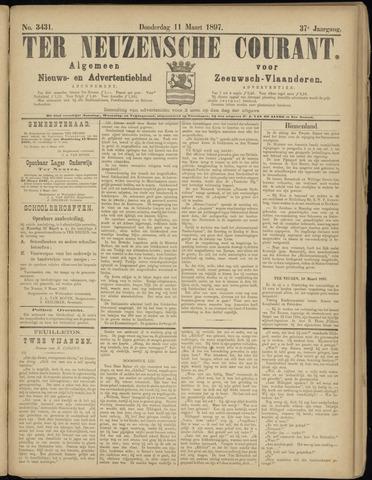 Ter Neuzensche Courant. Algemeen Nieuws- en Advertentieblad voor Zeeuwsch-Vlaanderen / Neuzensche Courant ... (idem) / (Algemeen) nieuws en advertentieblad voor Zeeuwsch-Vlaanderen 1897-03-11