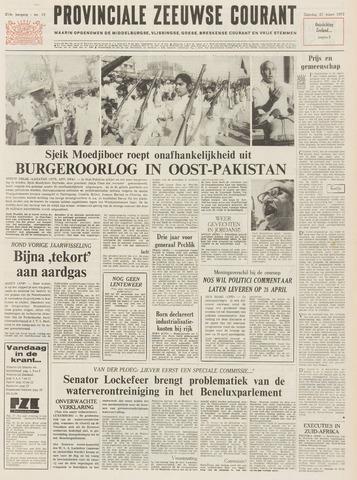 Provinciale Zeeuwse Courant 1971-03-27