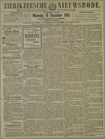 Zierikzeesche Nieuwsbode 1910-12-19