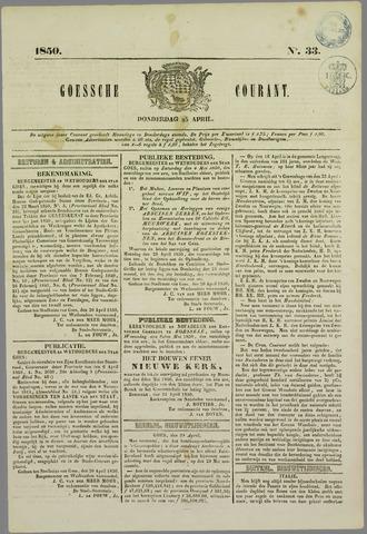 Goessche Courant 1850-04-25