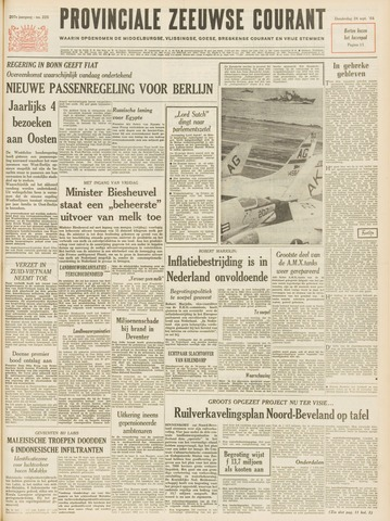 Provinciale Zeeuwse Courant 1964-09-24