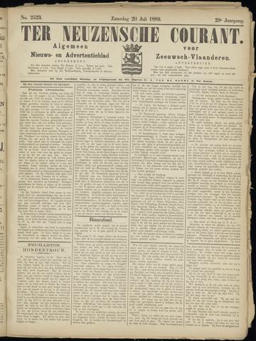 Ter Neuzensche Courant. Algemeen Nieuws- en Advertentieblad voor Zeeuwsch-Vlaanderen / Neuzensche Courant ... (idem) / (Algemeen) nieuws en advertentieblad voor Zeeuwsch-Vlaanderen 1889-07-20