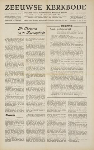 Zeeuwsche kerkbode, weekblad gewijd aan de belangen der gereformeerde kerken/ Zeeuwsch kerkblad 1955-07-22
