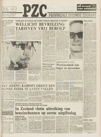 Provinciale Zeeuwse Courant 1973-12-11