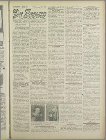 De Zeeuw. Christelijk-historisch nieuwsblad voor Zeeland 1944-07-01
