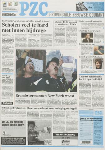 Provinciale Zeeuwse Courant 2001-11-03