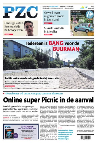 Provinciale Zeeuwse Courant 2015-08-05