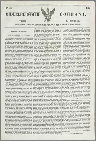 Middelburgsche Courant 1872-11-29