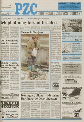 Provinciale Zeeuwse Courant 1993-12-18